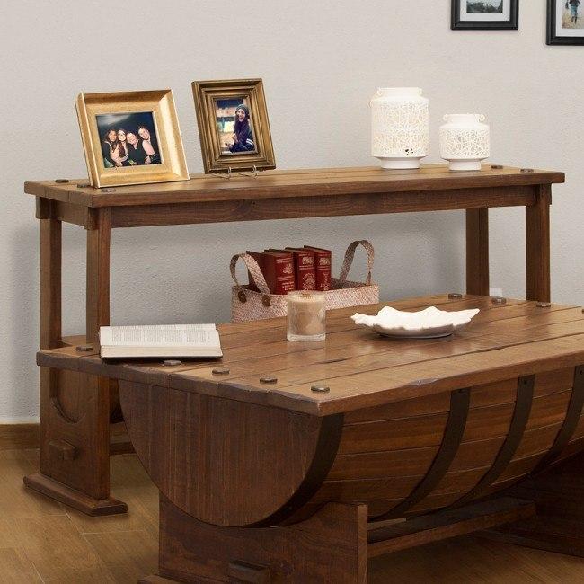 Bourbon Sofa Table