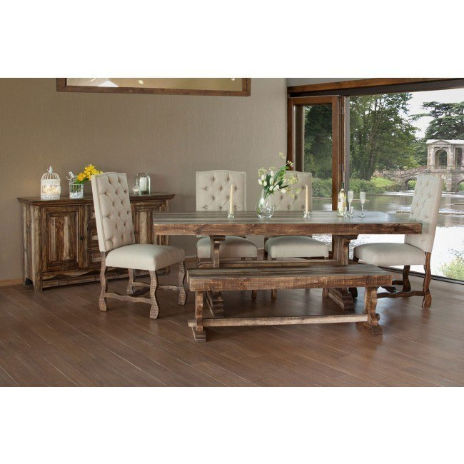 Marquez Dining Room Set w/ Upholstered Chairs