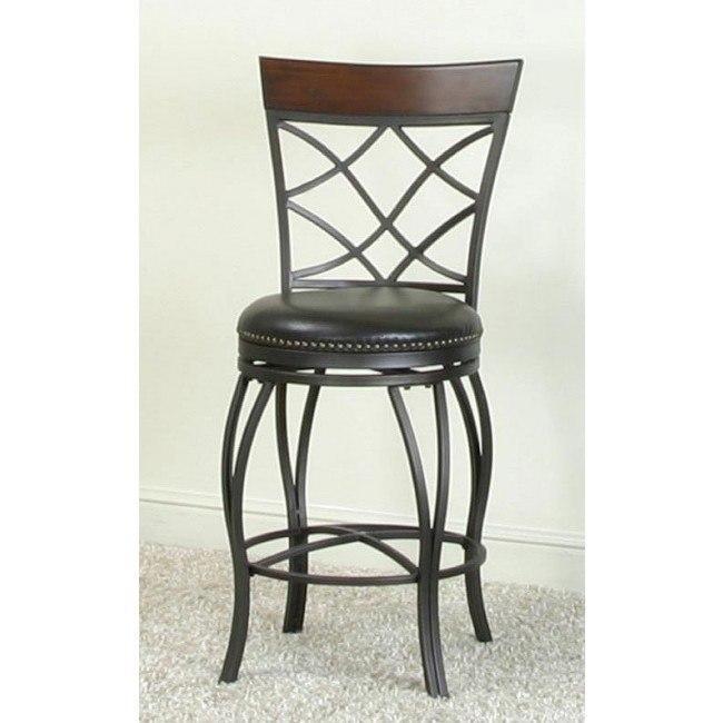 Fine Monza 24 Inch Criss Cross Back Counter Chair Lamtechconsult Wood Chair Design Ideas Lamtechconsultcom