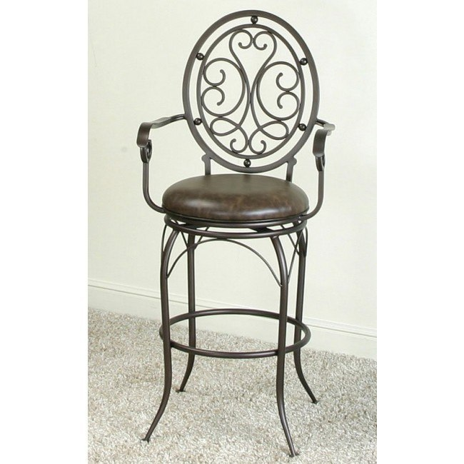 Fantastic Monza 30 Inch Barstool W Arms Ncnpc Chair Design For Home Ncnpcorg