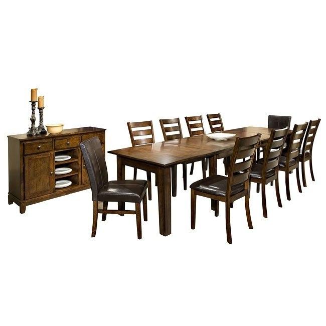 Kona Expandable Formal Dining Room Set