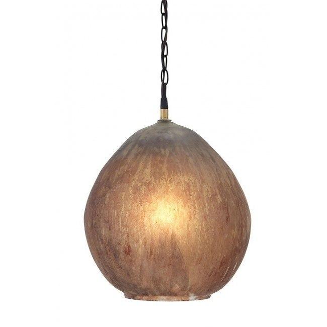 Fadey Glass Pendant Light (Brown)