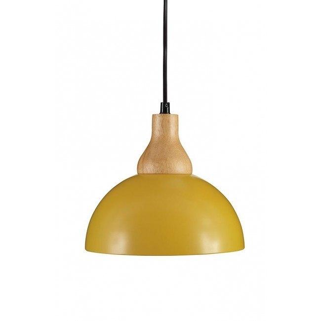 Idania Metal Pendant Light (Yellow)