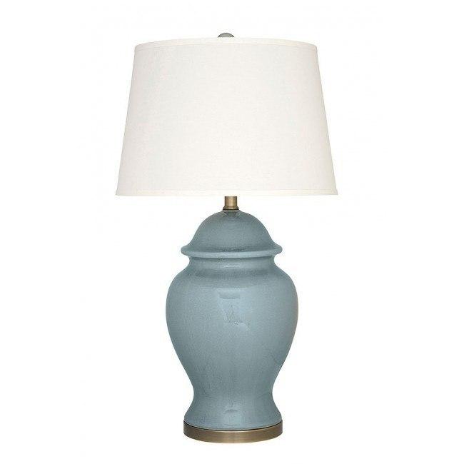 Darena Ceramic Table Lamp (Blue)