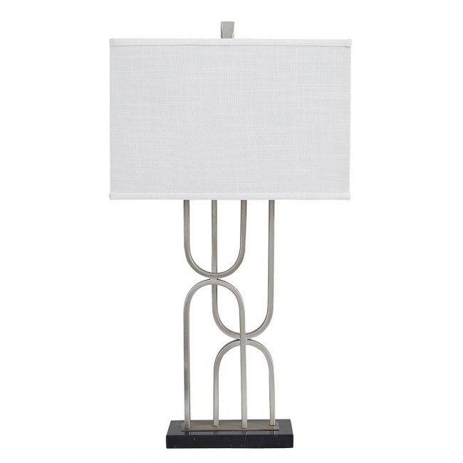 Darielle Metal Table Lamp (Silver)