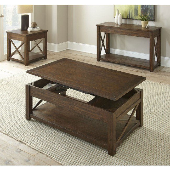 Lenka Lift-Top Occasional Table Set
