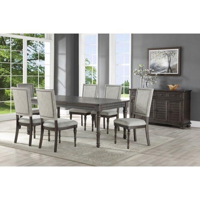 Linnett Dining Room Set w/ Upholstered Chairs