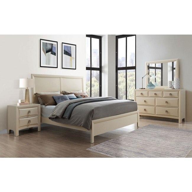 Lucas Bedroom Set (Cream)