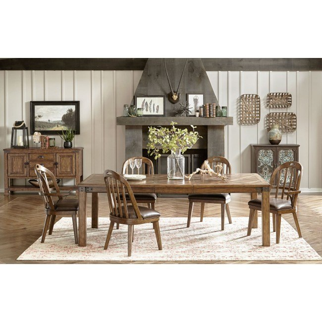 Heartland Falls Dining Room Set W Windsor Chairs