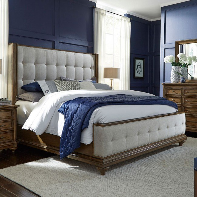 Carrington Upholstered Bed