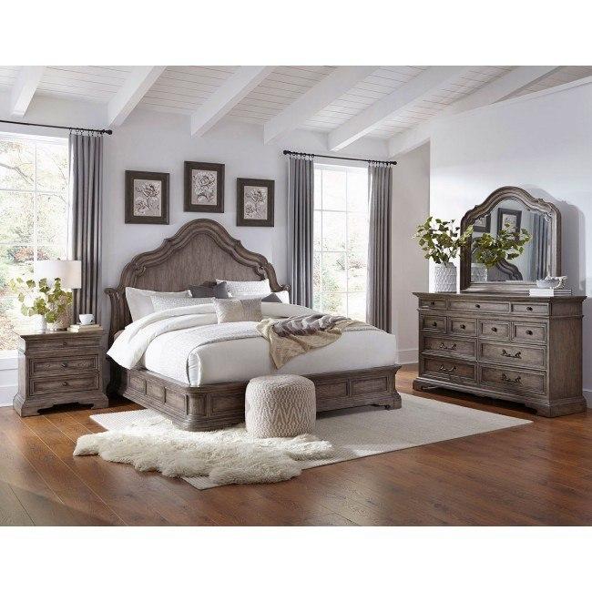 Cordoba Panel Bedroom Set By Pulaski Furniture Furniturepick