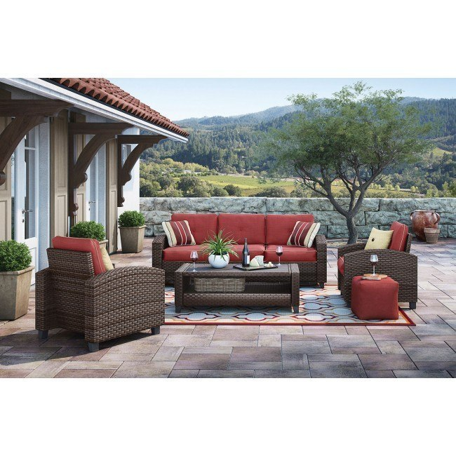 Meadowtown 4-Piece Outdoor Seating Set