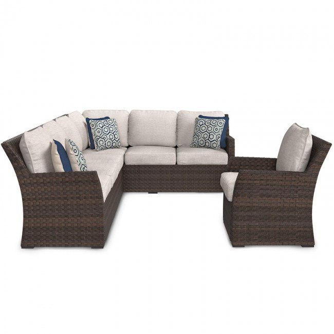 Salceda 3-Piece Outdoor Seating Set