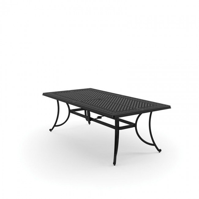 Burnella Outdoor Rectangular Dining Table