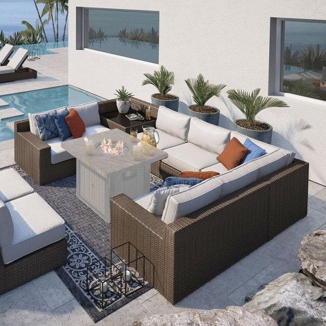 Alta Grande Outdoor Modular Sectional