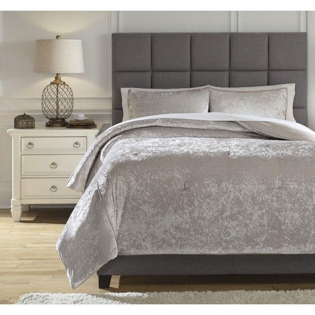 Rosemaria Oyster Comforter Set