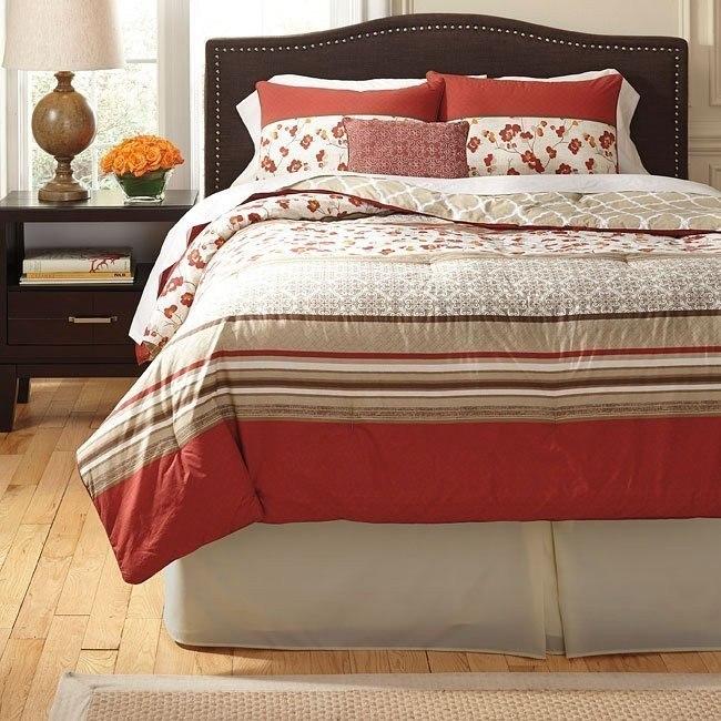Cayenne Rouge Bedding Set
