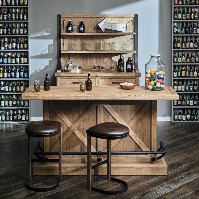 Furniture City Brewing Blonde House Bar Set w/ IPA Stools