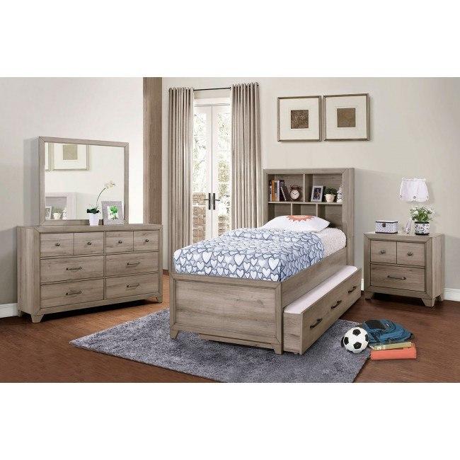 River Creek Bookcase Bedroom Set