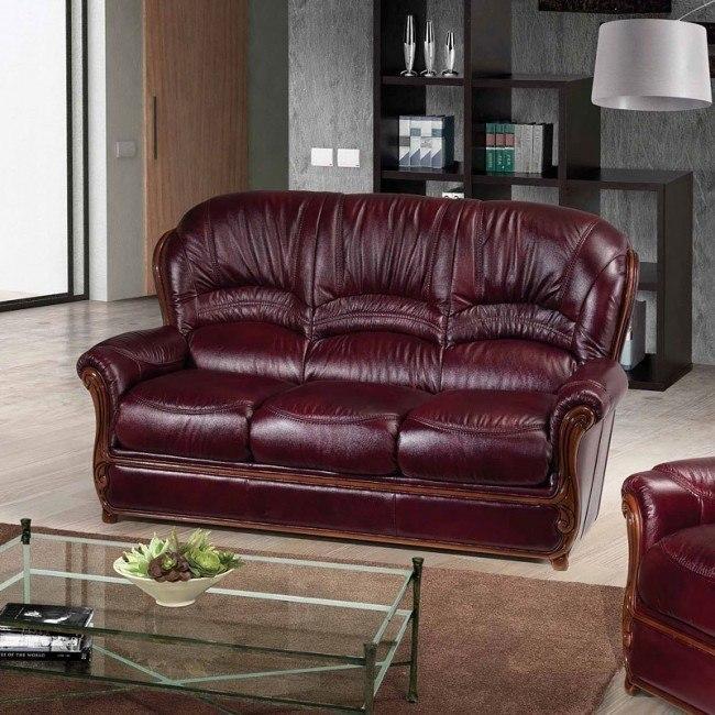 Sara Italian Leather Sofa