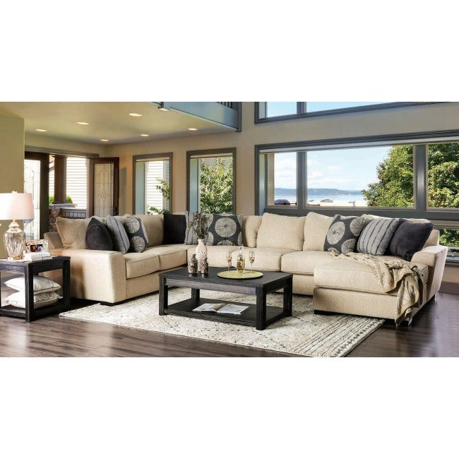Cate Right Chaise Sectional