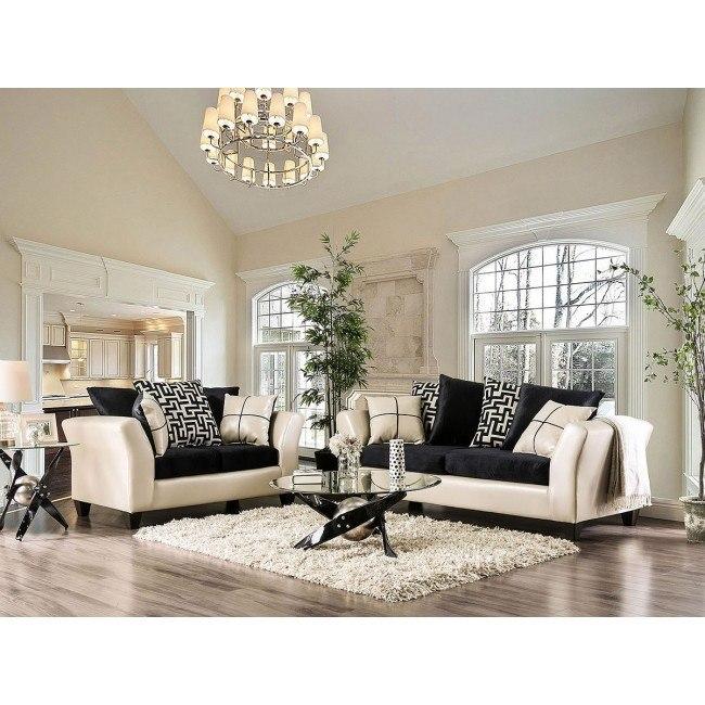 Kaelyn Living Room Set (Ivory)