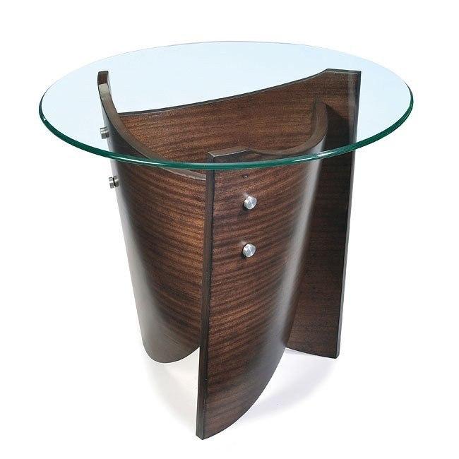 Contour End Table