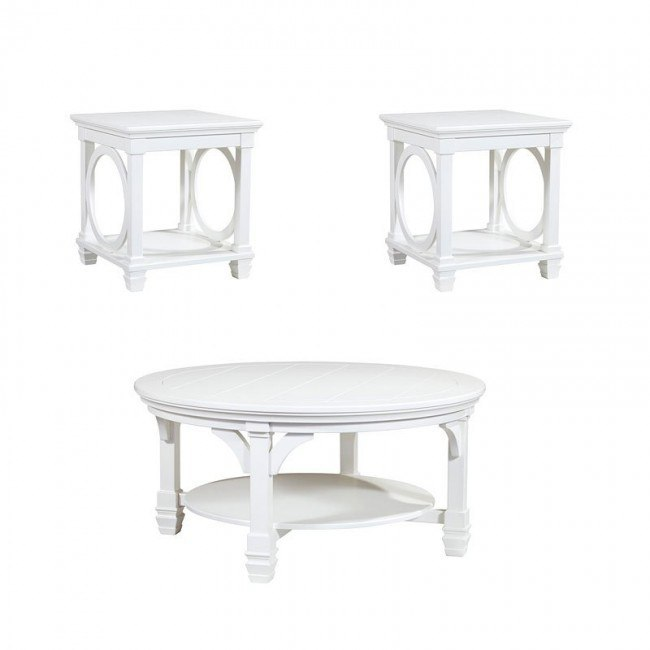 Mintville Round Occasional Table Set