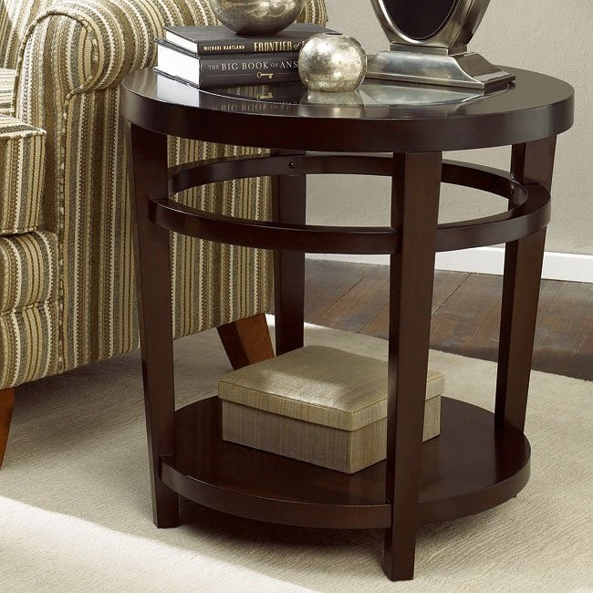 Urbana Round End Table By Hammary Furniturepick