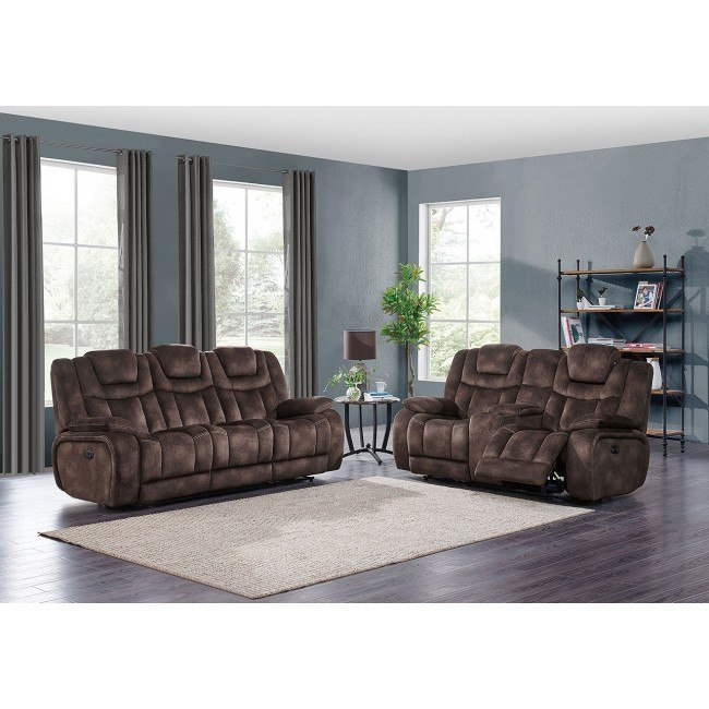 Surprising U1706 Power Reclining Living Room Set W Power Headrests Ocoug Best Dining Table And Chair Ideas Images Ocougorg