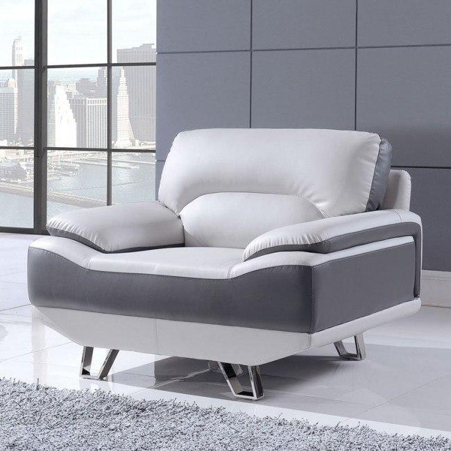 U7330 Chair (Nat Light Grey and Dark Grey)