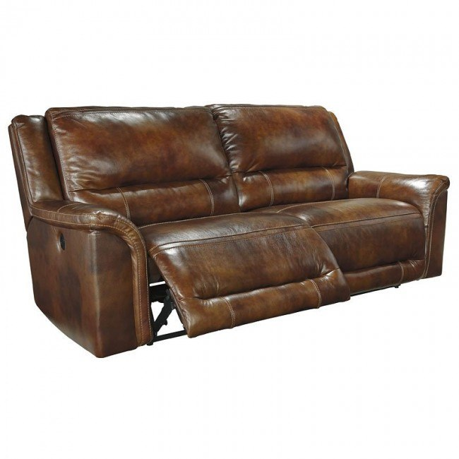 Jayron Leather 2 Seat Power Reclining Sofa