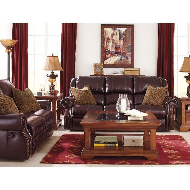 Brilliant Walworth Blackcherry Reclining Living Room Set W Power Pabps2019 Chair Design Images Pabps2019Com