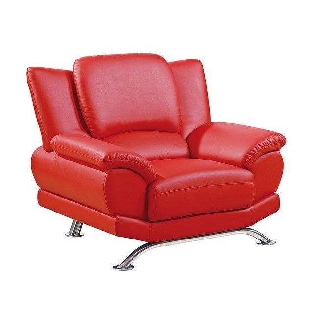 U9908 Red Modern Chair