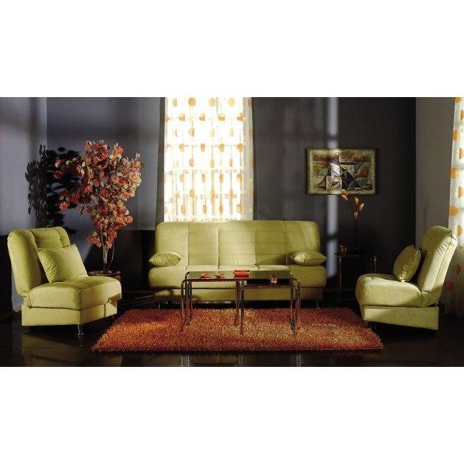 Vegas Living Room Set (Rainbow Green)