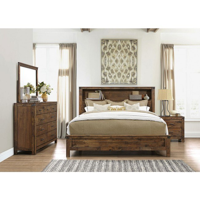 Victoria Bookcase Bedroom Set By Global Furniture