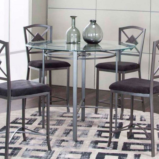 Milano Round Counter Height Dining Table