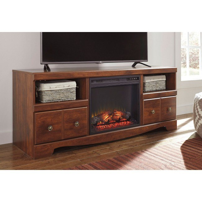 Brittberg Large TV Stand w/ Fireplace