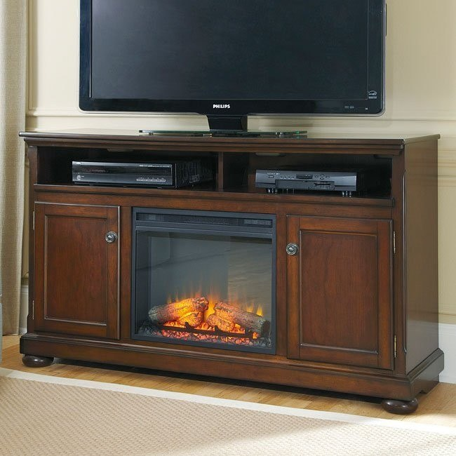Porter 60 Inch Tv Stand W Fireplace By Millennium Furniturepick