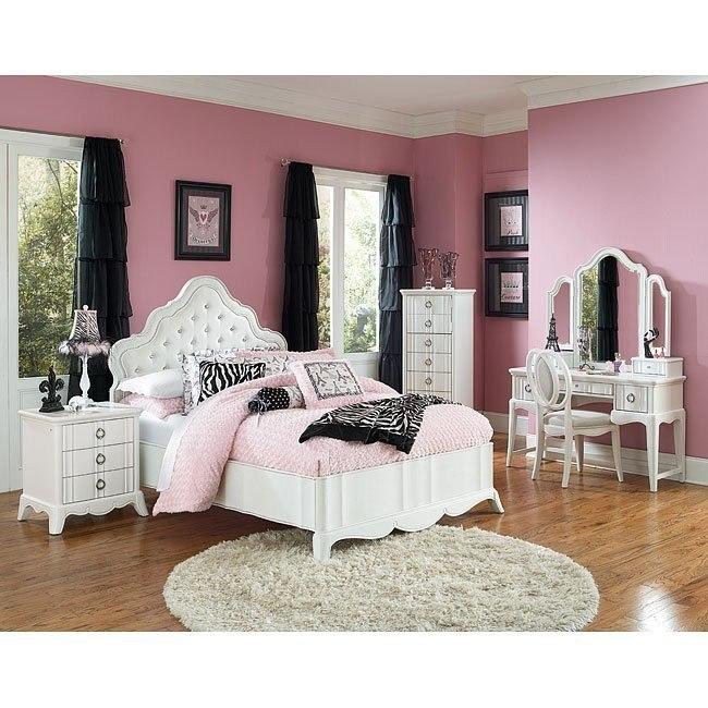 Gabrielle Living Room: Gabrielle Panel Bedroom Set By Magnussen