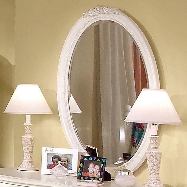 Cheri Oval Mirror