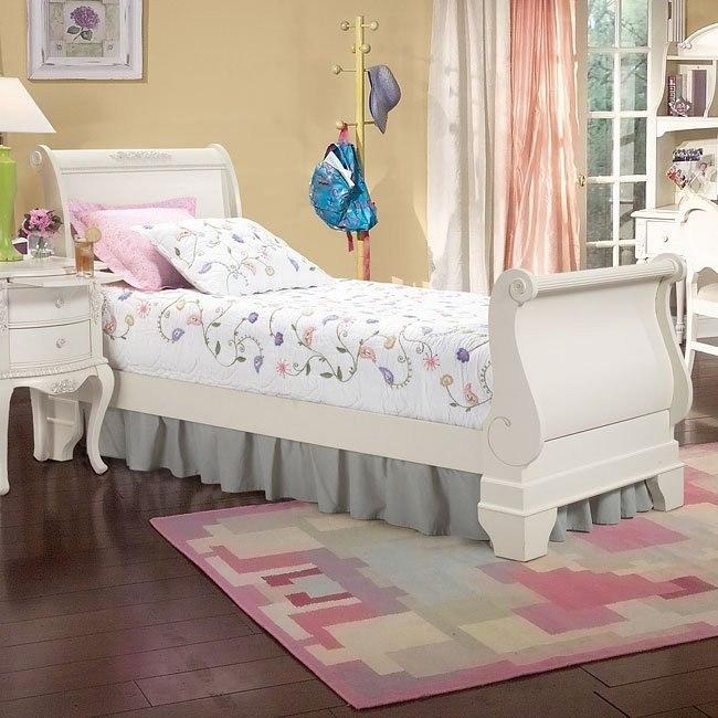 Cheri Sleigh Bed