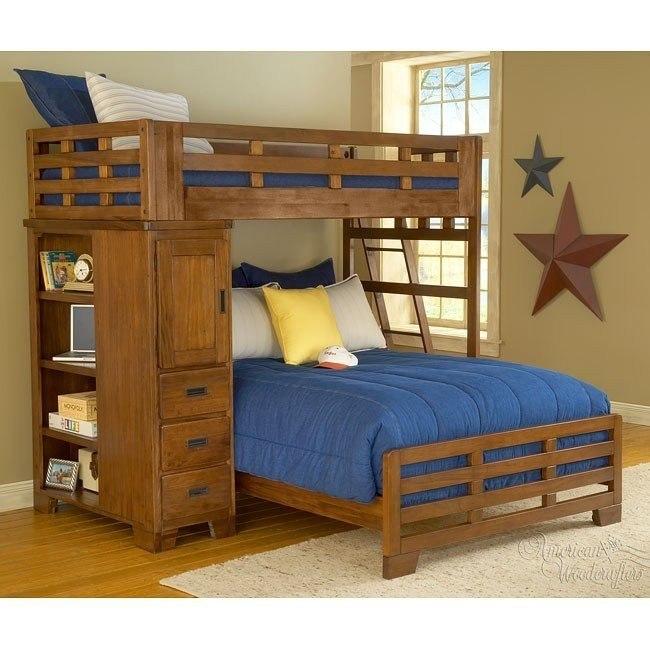Heartland Student Loft Bed (Twin/ Full)