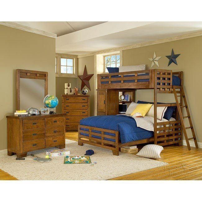 Heartland Loft Bed Bedroom Set