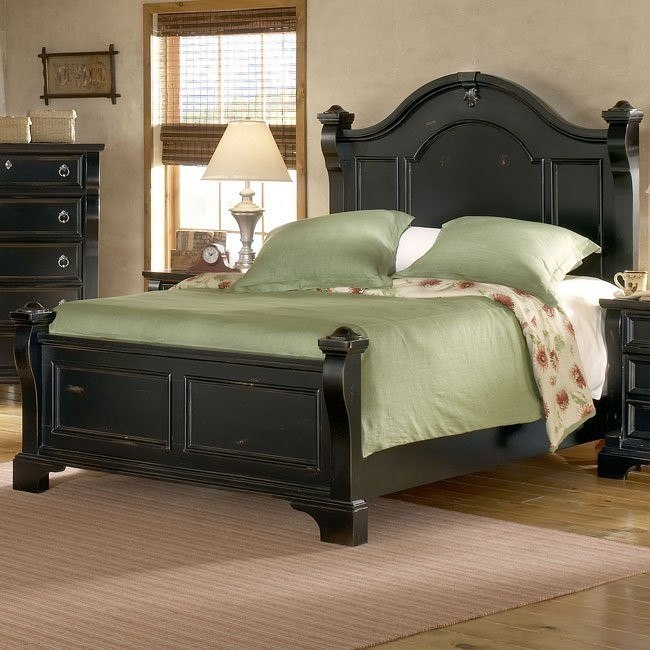 Heirloom Low Post Bed