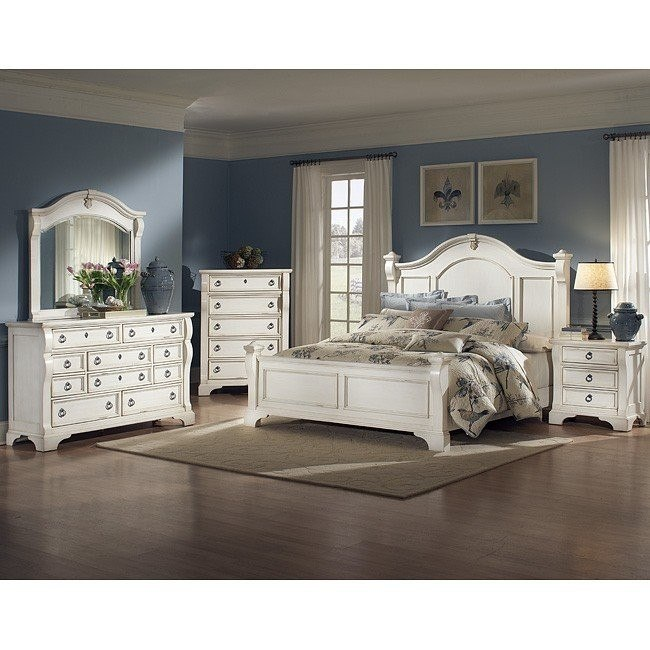 Heirloom Bedroom Set (White)
