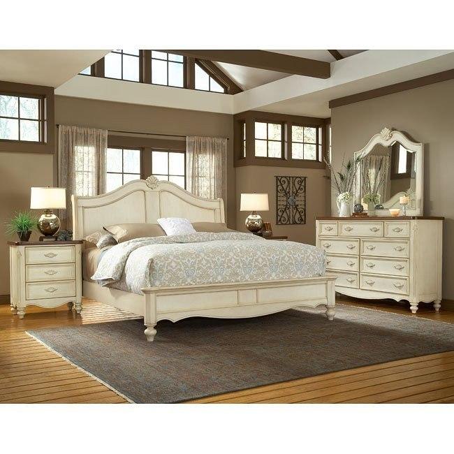 Chateau Sleigh Bedroom Set