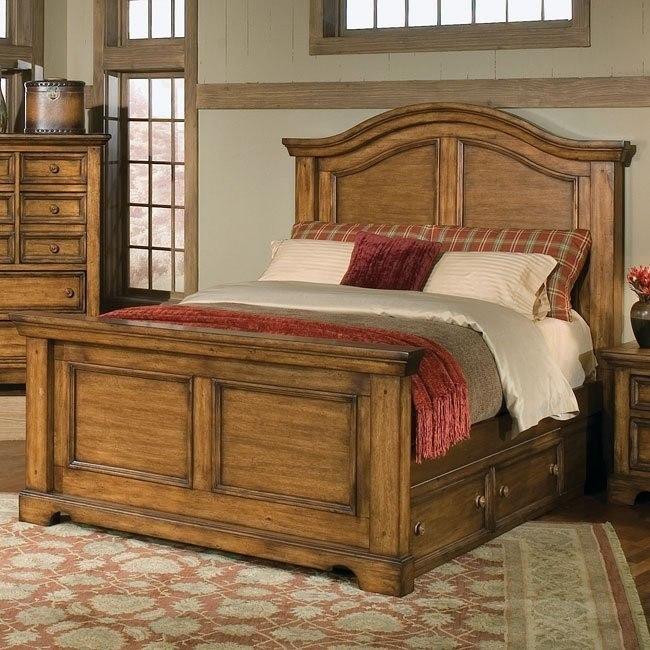 Eagles Nest Panel Bed