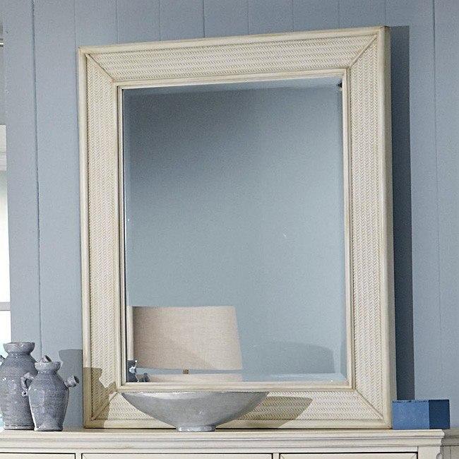 Courtyard Rectangular Mirror (Champagne)