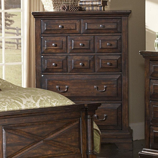 Heritage Lodge Five Drawer Chest